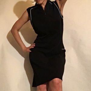 Tahari Black Shift Dress